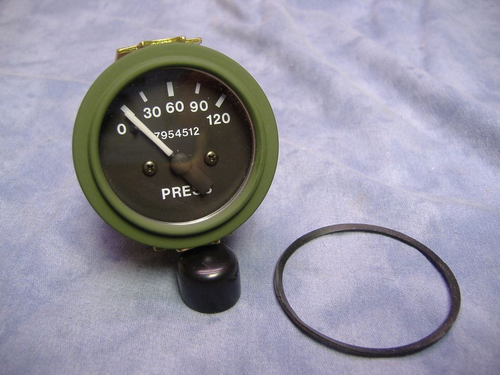 MILITARY 120 PSI OIL PRESSURE GAUGE MS24540-2