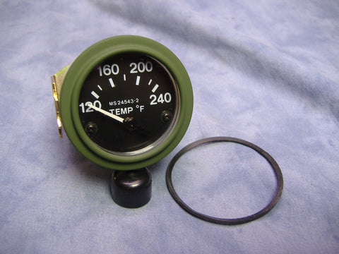 TEMPERATURE GAUGE 120-240F, MS24543-2