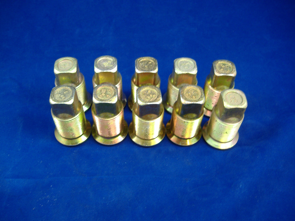 M35A2 LUG NUTS, M813 LUG NUTS, 5 TON LUG NUTS, M54 LUG NUTS, M939 LUG NUTS, ROCKWELL AXLES, MILITARY TRUCK LUG NUTS, ROCKWELL 2.5 TON, # MS53068-2