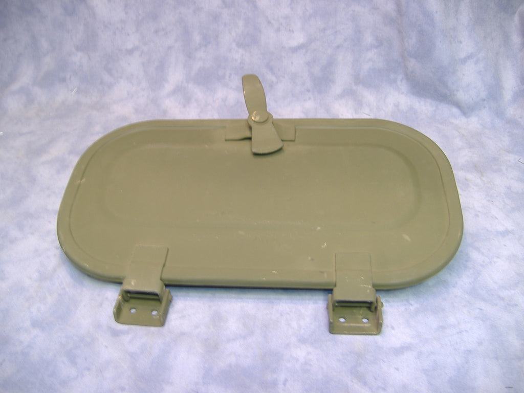 MILITARY TRUCK GLOVE BOX DOOR # 7373340, NSN 2540007373340 M35A2, M35A3, M54A2, M813, M818, M816
