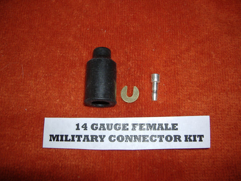 "14 GAUGE MILITARY FEMALE ""PACKARD"" WIRE CONNECTOR MS27142-2"