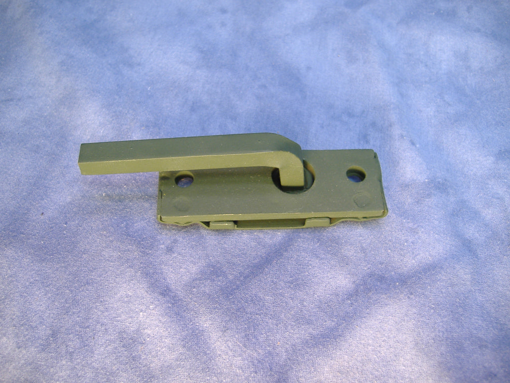 MILITARY HOOD LATCH, MILITARY TOOL BOX LATCH, MILITARY TRUCK BATTERY BOX LATCH, # 7539221, NSN 5340007095879.