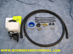 M35A2 MASTER CYLINDER REMOTE RESERVOIR KIT, REAL CUSTOM TRUCKS, STEEL SOLDIERS, SINGLE CIRCUIT BRAKES, M109A2, M809, M813, M54A2, 5 TON, DEUCE,