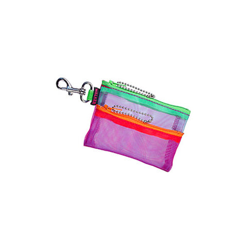 Double Zip Case w/ Hook - Multi Color