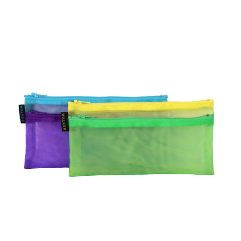 Multicolor Double Zip Cases- Large sizes