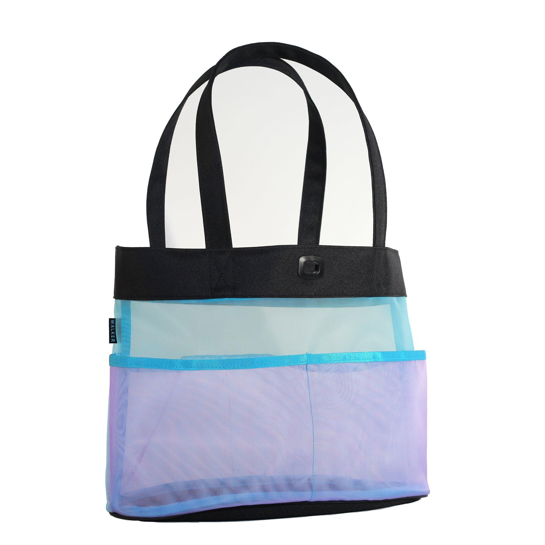 Duck & Mesh Utility Tote with 4 Pockets
