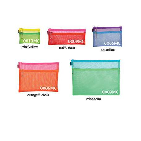 Multicolor Double Zip Cases - Small sizes