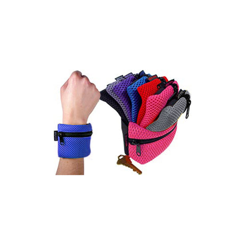 Wrist Pouch & Arm Gusset with Contrasting Zipper