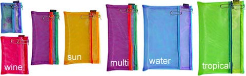 Multi Color Double Zip Cases - Small sizes