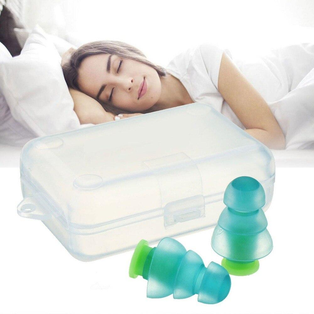 Reusable Noise Cancelling Silicone Earplugs