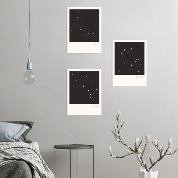 Onyx Constellation Canvas