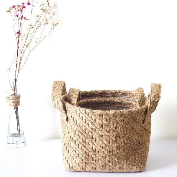 Jute Cloth Basket