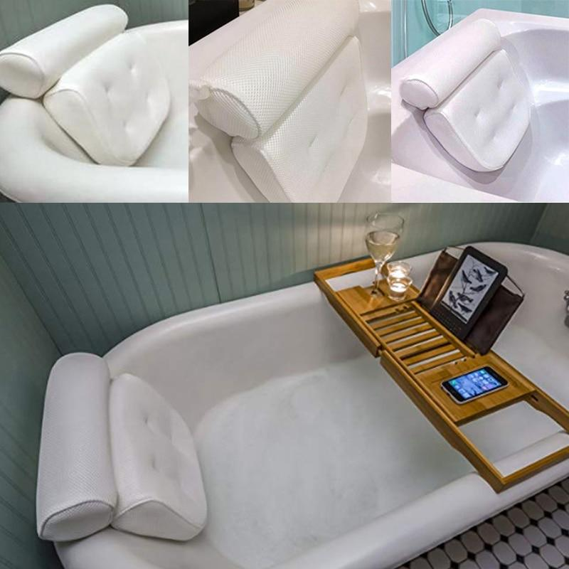 Mesh Bath Pillow