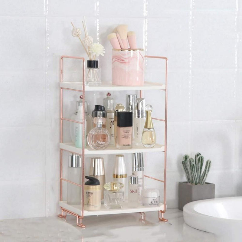 Rose Gold Storage Rack