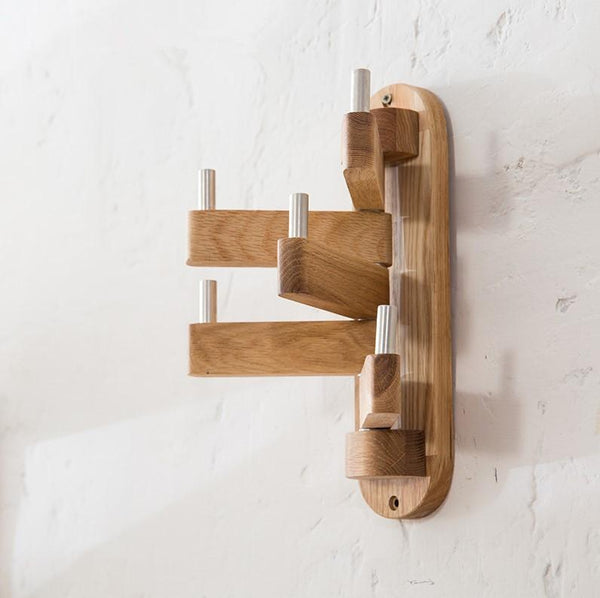 Beech Wood Towel Rack