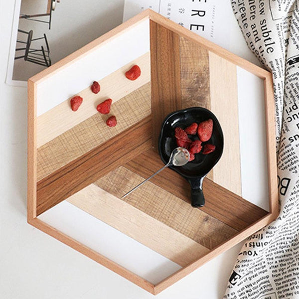Geometric Display Tray
