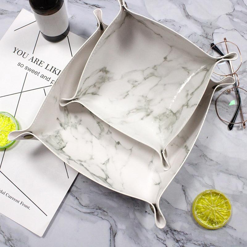 Refined Leather Tray