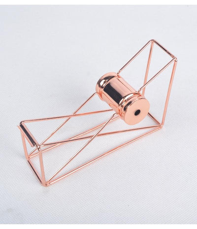 Rose Gold Tape Holder