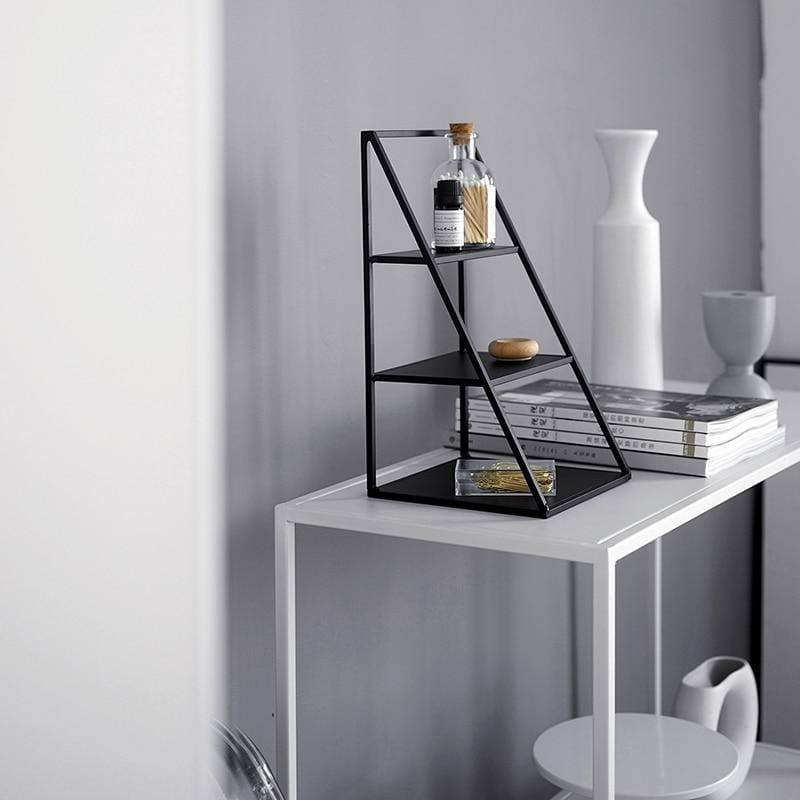 Half Pyramid Decorative Stand