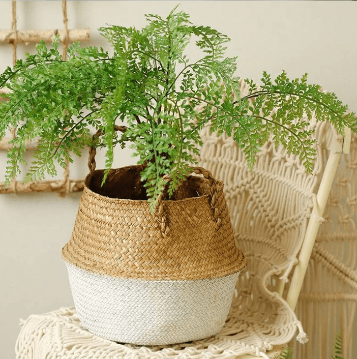 Seagrass Wicker Basket