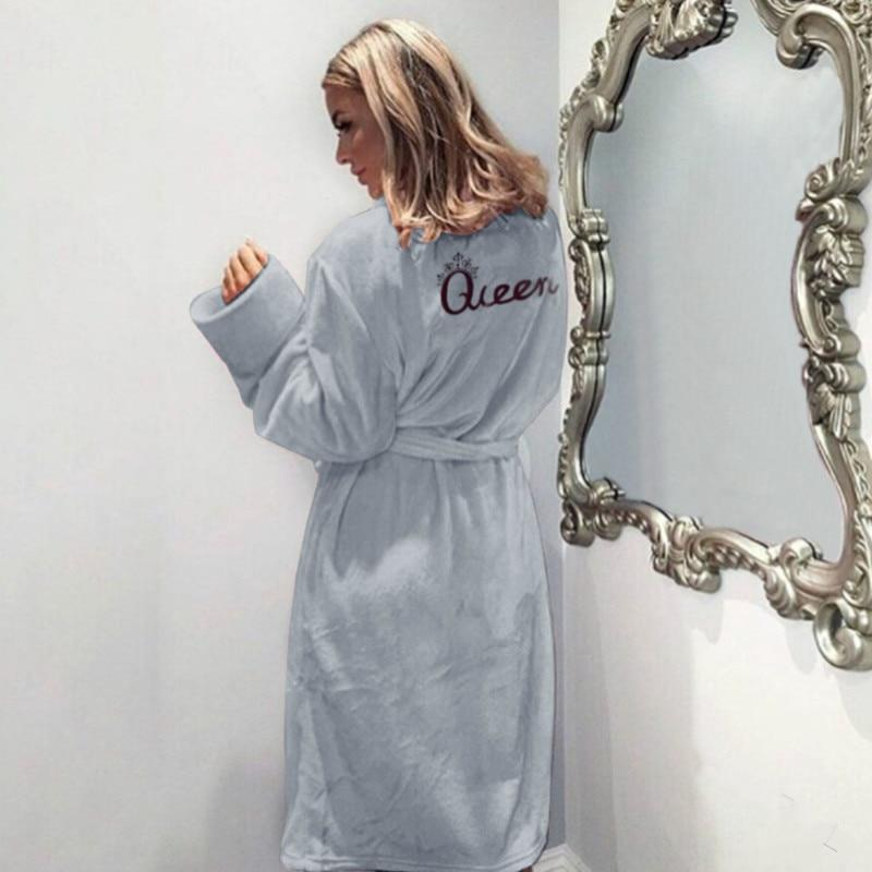 Queen Plush Bathrobe