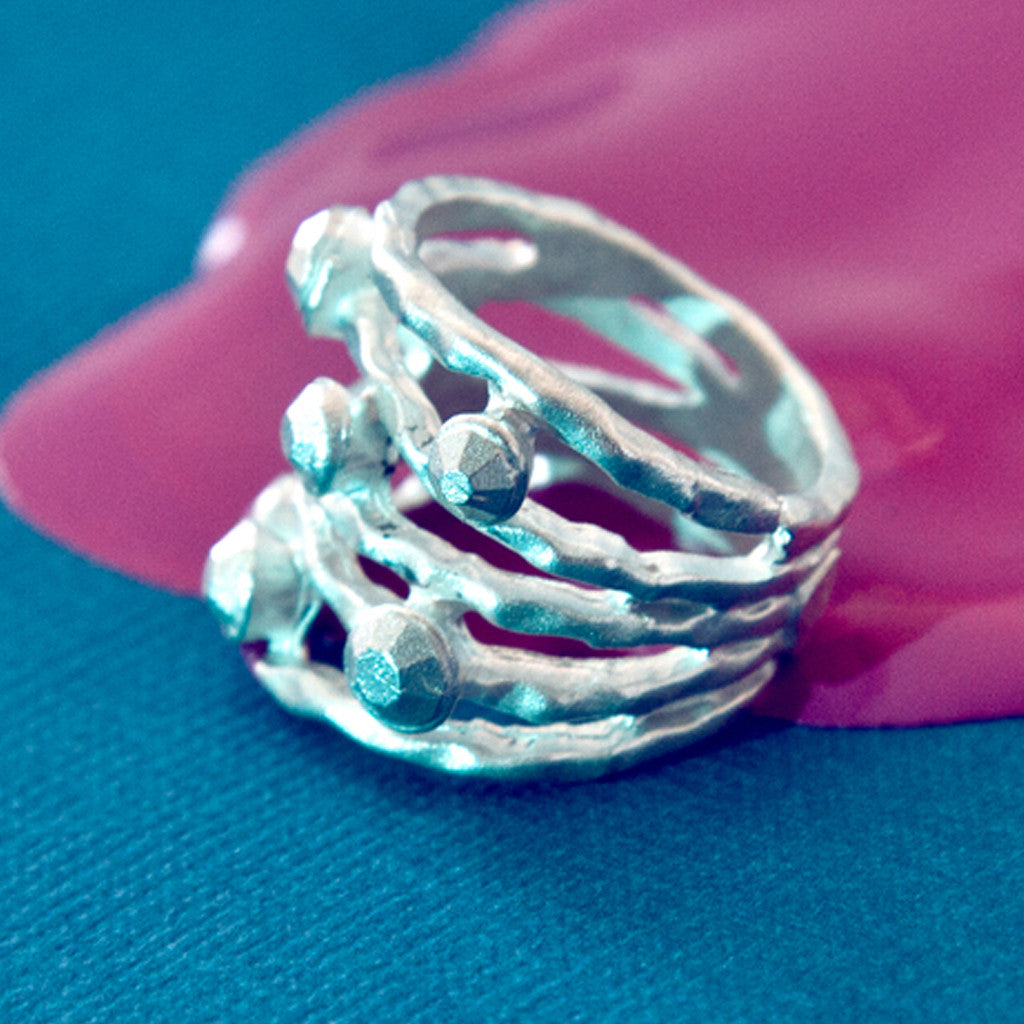 Frosted Fungi Ring