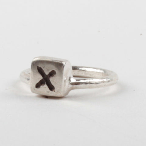 X Box Ring - Black