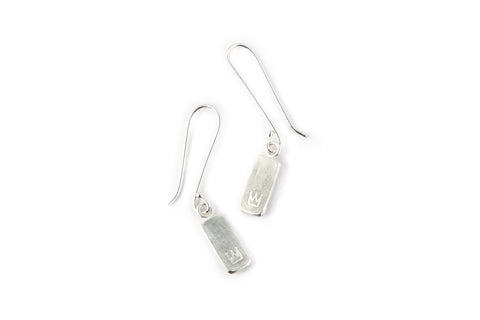 Oblong Tile Earrings