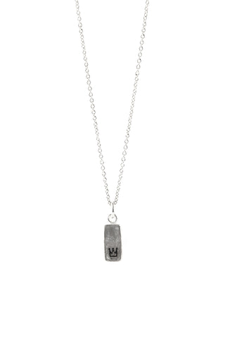 Oblong Crown Tile Pendant