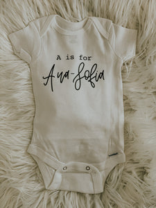 The Custom Onesie
