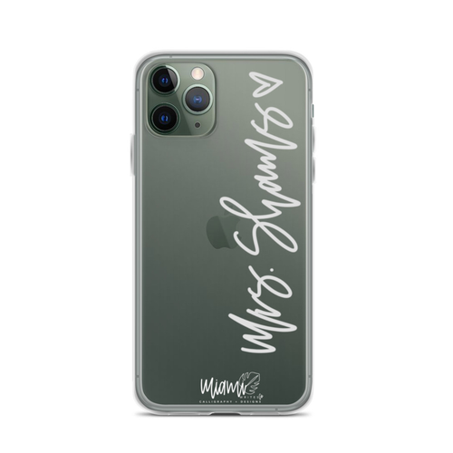 PERSONALIZED MRS IPHONE CASE