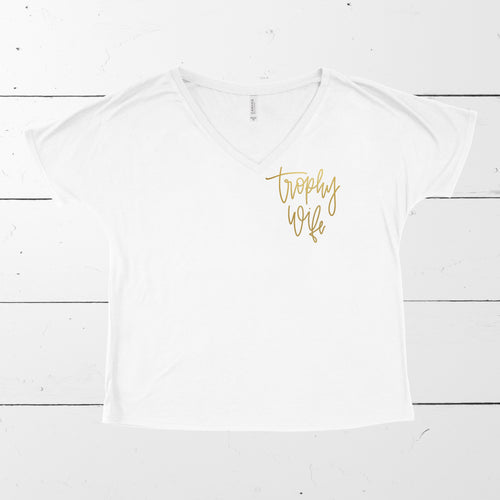 TROPHY WIFE FOR LIFE TEE