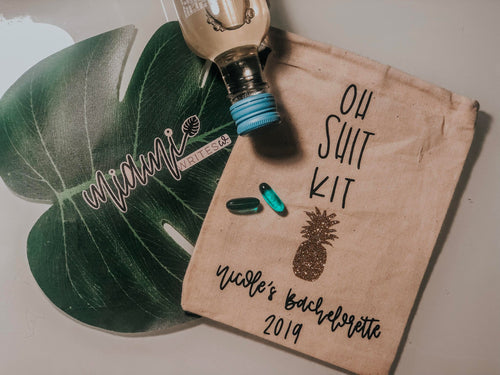 Oh Shit Kits! Bachelorette Party Favors
