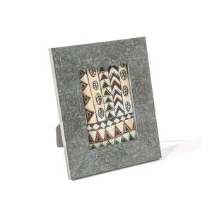 5 x 7 Verdigris Flat Photo Picture Frame