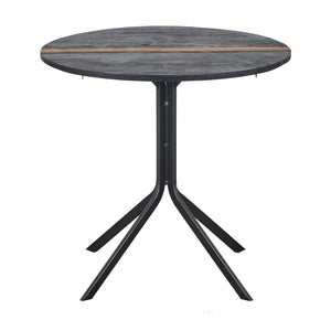 Kleo Recycled Boatwood Bistro Table - Round