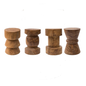 Checkmate Teak Root Stool