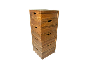 Swivel Drawer Corner Chest