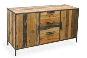 KLEO Recycled Boatwood Sideboard