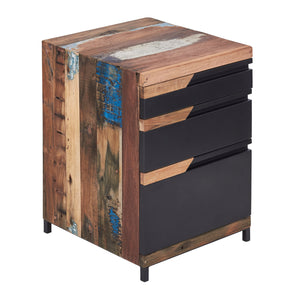 KLEO Recycled Boatwood Chest of Drawers Cabinet