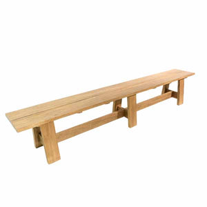 Solid Teak Large Garden Bench
