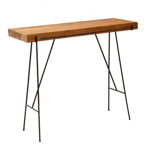 Natural Teak BBQ /Bathroom Console Indoor/Outdoor