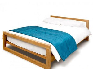 Mino Natural King Size Bed