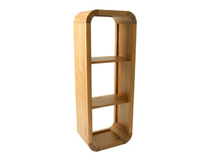 Solid Oak Shelving Unit 120cm high
