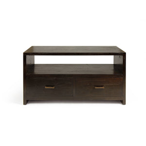 Indah Dark 2 Drawer TV Unit