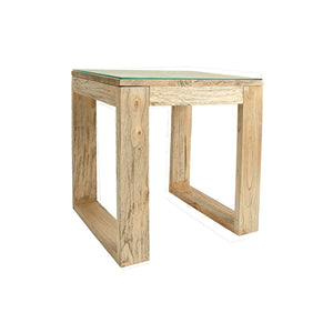 Radiant Square Lamp Table