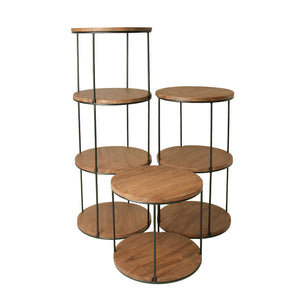 Delgado Circular Shelf Unit