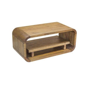 Arco Mango Wood Coffee Table TV Unit