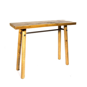Clifton Reclaimed Pine Console Table
