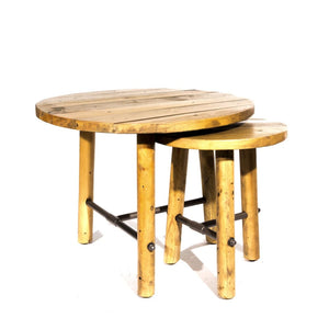 Clifton Reclaimed Pine Nest of Tables