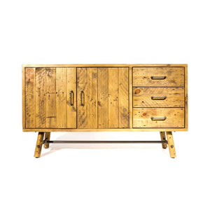 Clifton Reclaimed Pine Sideboard 130cm